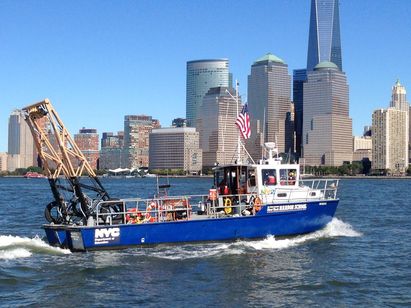 New York Harbor School Tugster A Waterblog