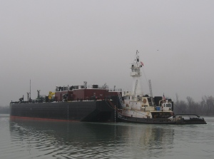 barge Houston with tug Eileen M