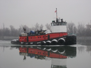 Tenacious light tug headed for L2