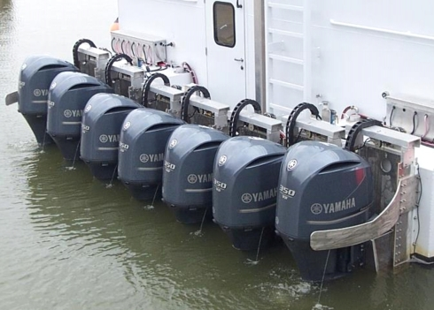 LOTS OF OUTBOARDS 2