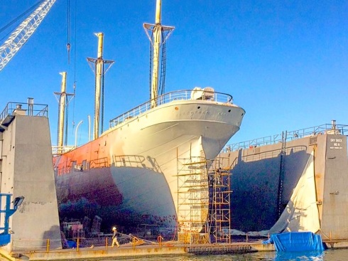 Wavertree At Caddell Dry Dock 4