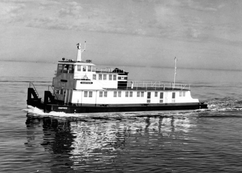 1 Chartiers For Tugster Use Only Boat Photo Museum 868