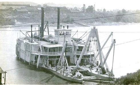 0aab1E A Woodruff Corps of Engineers Snag Boatc 1910