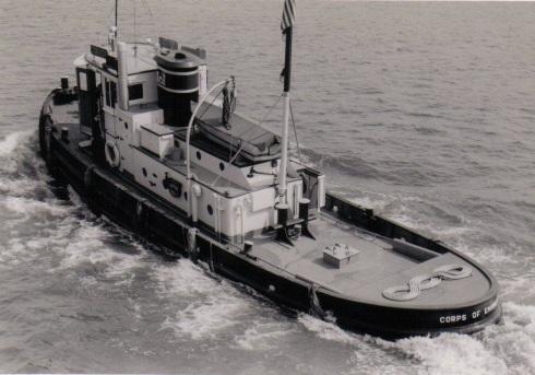 0aab2Corps tug convoy (1952)