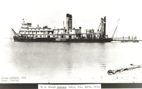 0achs2Dredge Bernard Tampa Florida - 1924