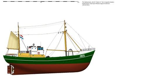 av2Kotter AM-26 Nehim IV Ex-Kriegsfischkutter Shaded version