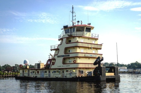 bt12MV GEORGE C. GRUGETT was built and classed in 2013 for the USACE Memphis District