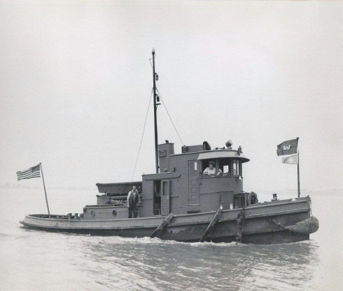 bt1dUSACE TENDER TUG FRANKFORD BUILT 1924 - FIXED