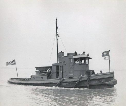 bt1dUSACE TENDER TUG FRANKFORD BUILT 1924 - FIXED