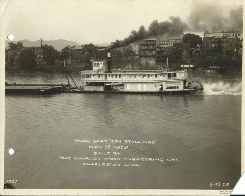 bt6Corps of Engineers Snag Boat Tom Stalling 5- 15- 1919