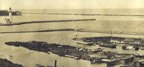 1900-oswego-harbour-entrance